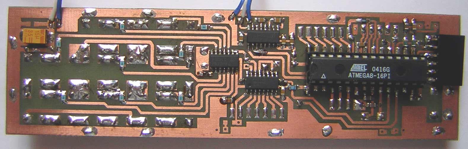 печатная схема для atmega8